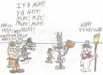 Looney Tunes Meets Frosty (OLD) by JAH99