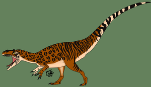 Big Cat Allosaurus by StygimolochSpinifer