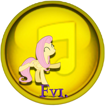 Fluttershy iTunes icon, one. by Flutterflyraptor
