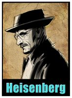 walter white _ breaking bad by HEROBOY