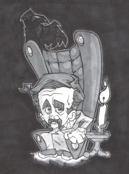 THE RAVEN AND POE by leagueof1