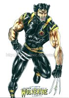 Ultimate Wolverine by kiborgalexic