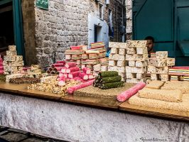 Candies at Akko market by ShlomitMessica