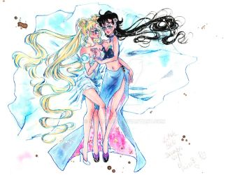 Princess Serenity and Lady Seiya? by SeiyasLove