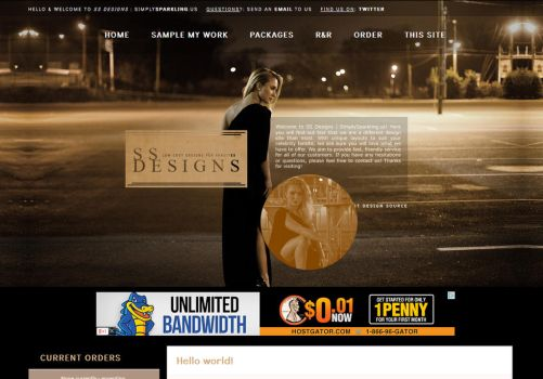 SS Designs - New Theme feat. Hayden Panettiere by BurningBrightDesigns