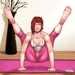 Tittibhasana by Radprofile