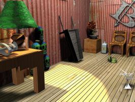 3D Whole Room by Barnman