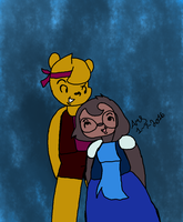 Winole/Molinnie as Ruby and Sapphire by Ay6