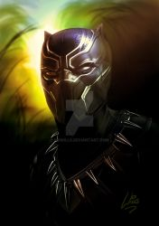 Black Panther by MrWills