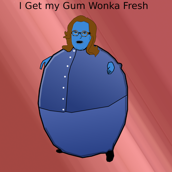 Rosie Odonnell Wonka Gum endorsement by dmonhunter35