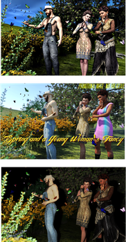 Spring and a Young Woman's Fancy (2010-Hourglass) by vwrangler