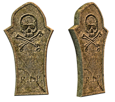 Grave 10 PNG Stock by Roy3D