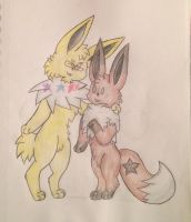 Star Buddies -gift-  by Starry-the-Jolteon