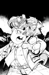 Mr. Beaver issue  03 cover inks! by ElHombredeArena