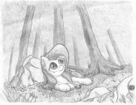 In the Trees by Bobdude0