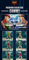 Street Fighter V - Cammy Premium Color by Ztitus by Ztitus