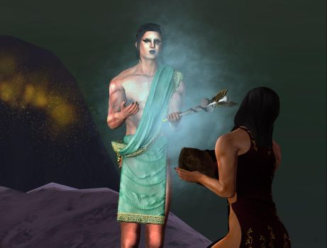 The Untold Birth of Diana - The Blessing of Hermes by DameKlaudia