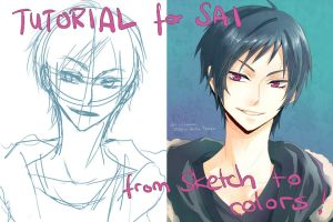 Tutorial SAI: sketch to colors by Lancha