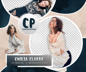 Png Pack 533 // Emilia Clarke by confidentpngs