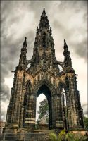 Scott Monument by Bootcoot