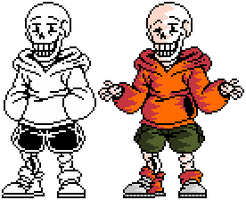 Undeswap - Papyrus by Nerveabhorrence