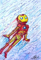 Iron Man by caycowa