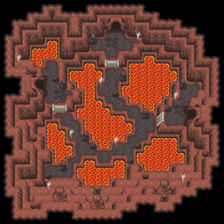 Volcano Cave / Tileset-Test #2 by Phyromatical