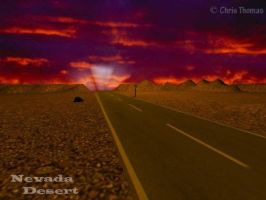 The Vegas Highway by Artful-Random