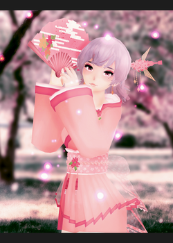 Cherry blossoms by ChoiMinYeon