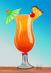 Paradise drink. by demoncreepo3