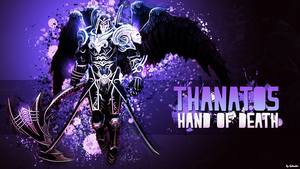 Thanatos, Hand of Death - Wallpaper HD by Getsukeii