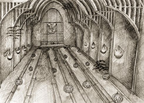 Hogwarts Great Hall by Shelty