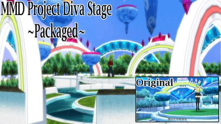 MMD Project Diva Package Stage by SachiShirakawa