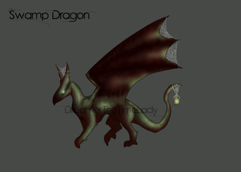 [OPEN] Swamp Dragon Adoptable by DreamerTheTimeLady
