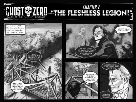 'Fleshless Legion' pg1 by Roguehill