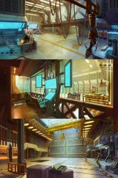 Lab, warehouse and factory. by Real-SonkeS
