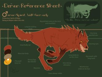 Ref Sheet Demon 2012 by Pample