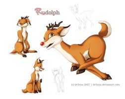 The Rednosed Reindeer by br3nna