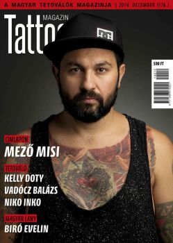 Hungarian Tattoo Magazine 176 - Dec 2014 by hortipeter
