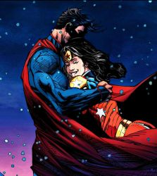 Supes and ww! by MayanTimeGod