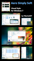 Aero Simply Soft for Win7 by TiborioART