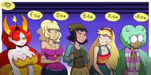 Star vs The Forces of Oppai by Chillguydraws