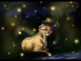 By the River in the Firefly Light... by Emerald-Eyes67
