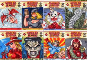 Golden Age of Comics Cards by Artassassin