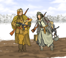 Frontovik and Landserin by ColorCopyCenter
