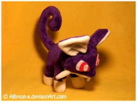 Rattata Mini-Minky Plush
