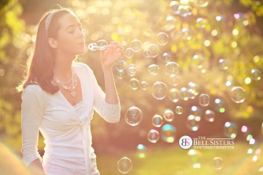 Rainbow Bubbles by thesashabell