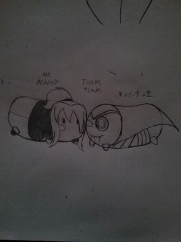 Me and nos-4-a2 tsum tsum by TakAshleyRed
