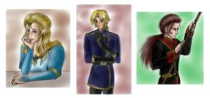 Fortitude Sketches by xx--ingie--xx