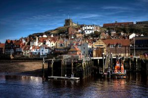 Whitby Harbour by GaryTaffinder